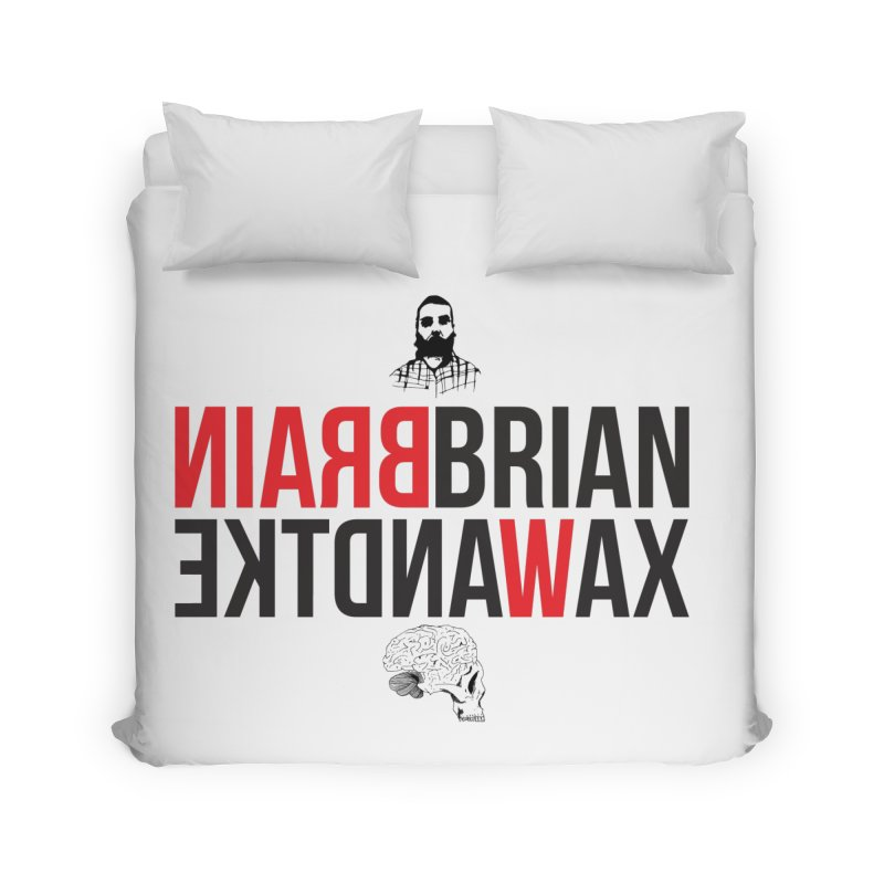 Title Exile Home Duvet by BRIANWANDTKEART's Artist Shop