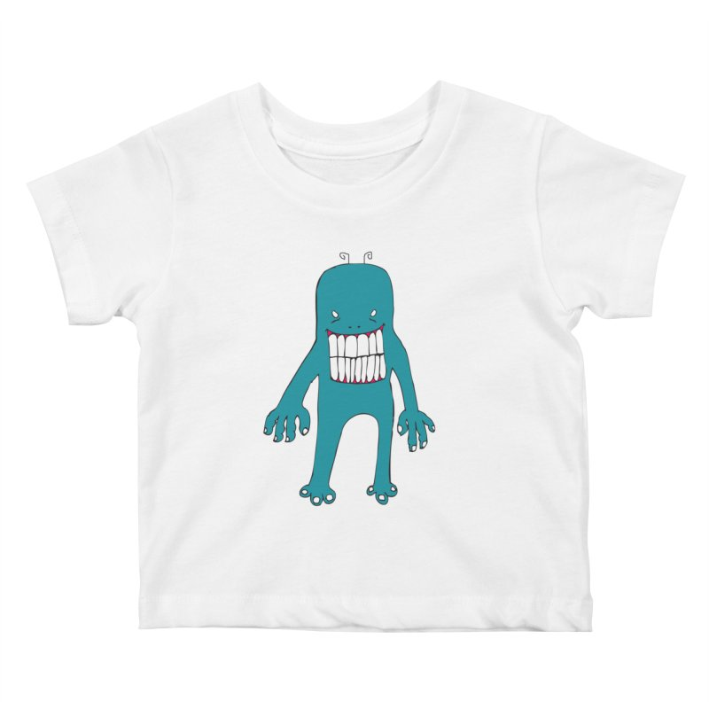 Monster 670 Kids Baby T-Shirt by BRIANWANDTKEART's Artist Shop