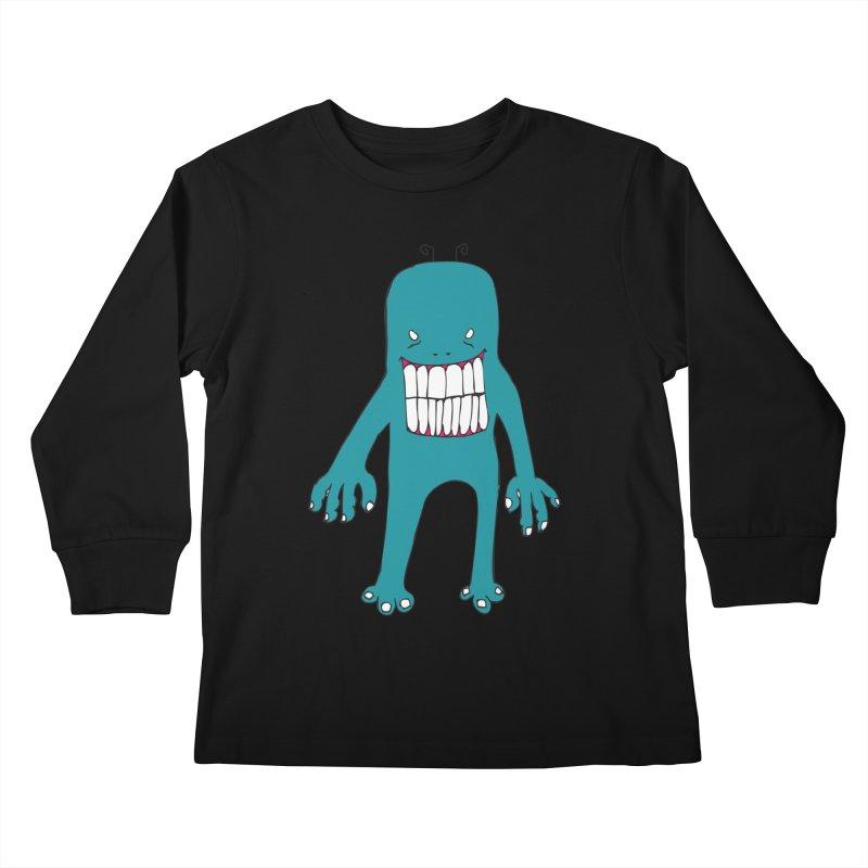 Monster 670 Kids Longsleeve T-Shirt by BRIANWANDTKEART's Artist Shop