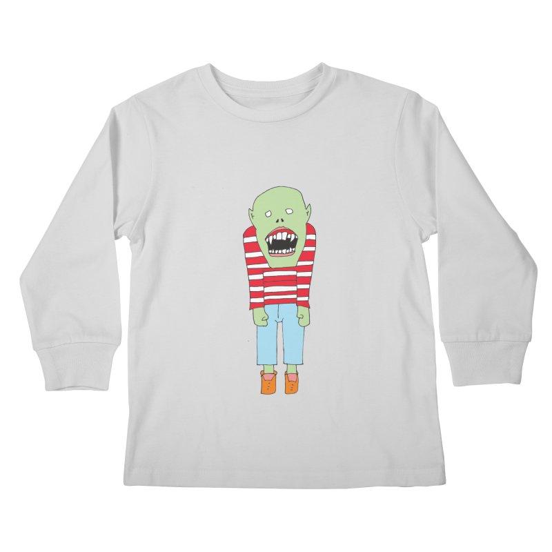 Monster 680 Kids Longsleeve T-Shirt by BRIANWANDTKEART's Artist Shop