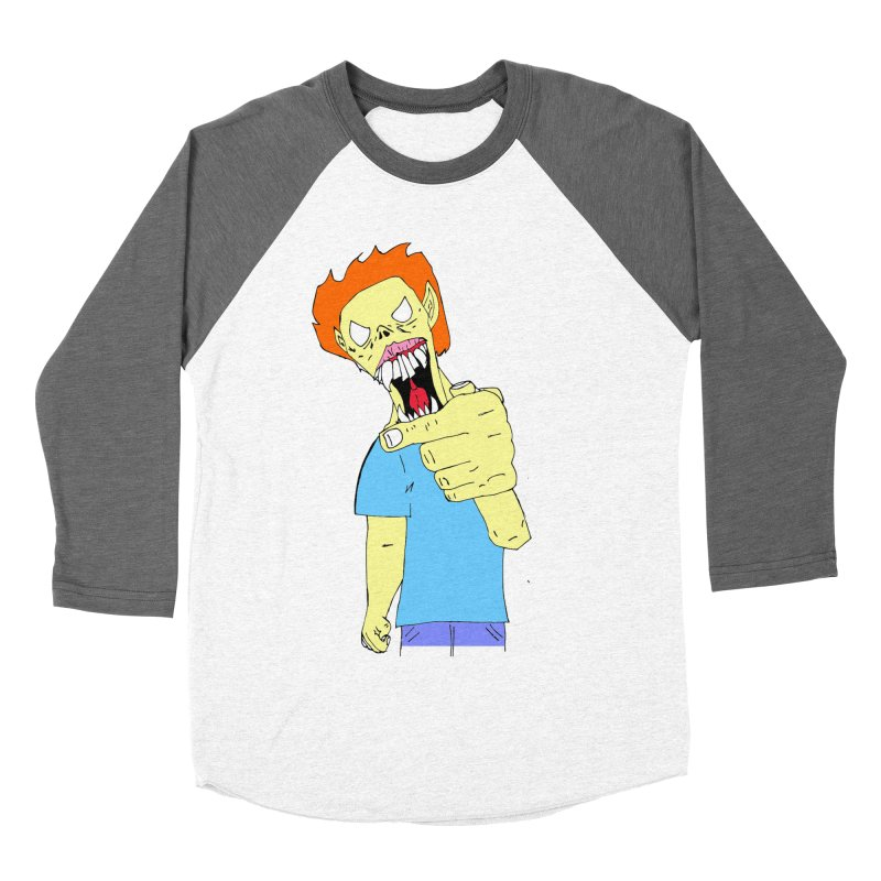 Razy Ruddy  Women's Baseball Triblend T-Shirt by BRIANWANDTKEART's Artist Shop