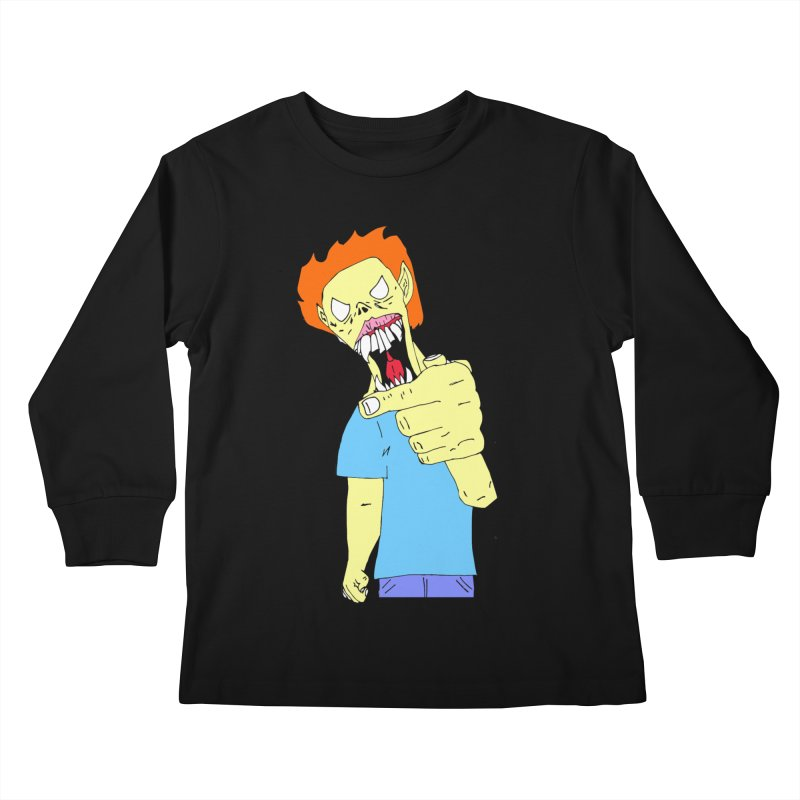 Razy Ruddy  Kids Longsleeve T-Shirt by BRIANWANDTKEART's Artist Shop
