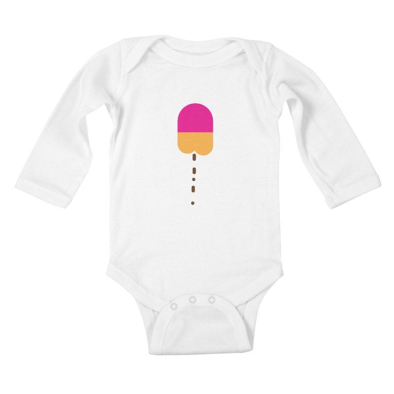 Poopcicle Kids Baby Longsleeve Bodysuit by BRIANWANDTKEART's Artist Shop