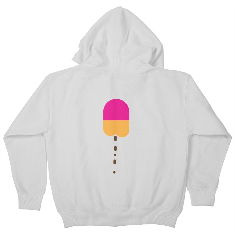 Poopcicle Kids Zip-Up Hoody by BRIANWANDTKEART's Artist Shop