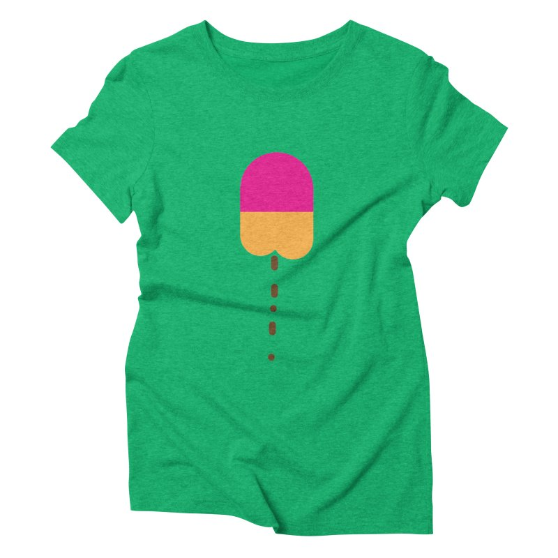 Poopcicle Women's Triblend T-shirt by BRIANWANDTKEART's Artist Shop