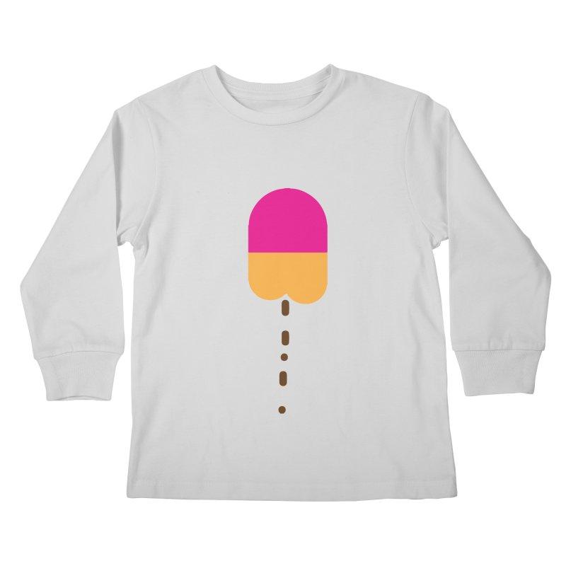 Poopcicle Kids Longsleeve T-Shirt by BRIANWANDTKEART's Artist Shop