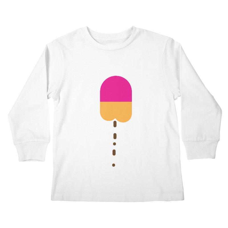 Poopcicle Kids Longsleeve T-Shirt by BRIANWANDTKEART's Artist Shop