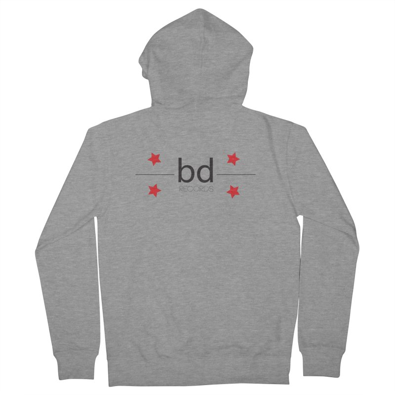 BDR Men's Zip-Up Hoody by BRIANWANDTKEART's Artist Shop