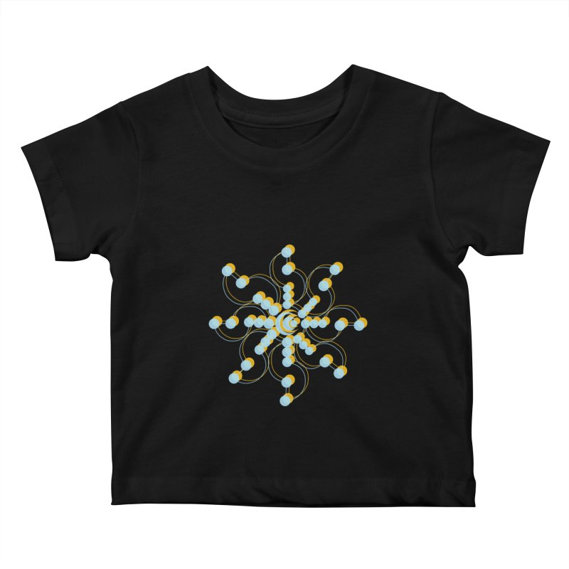 Spinal Kids Baby T-Shirt by BRIANWANDTKEART's Artist Shop
