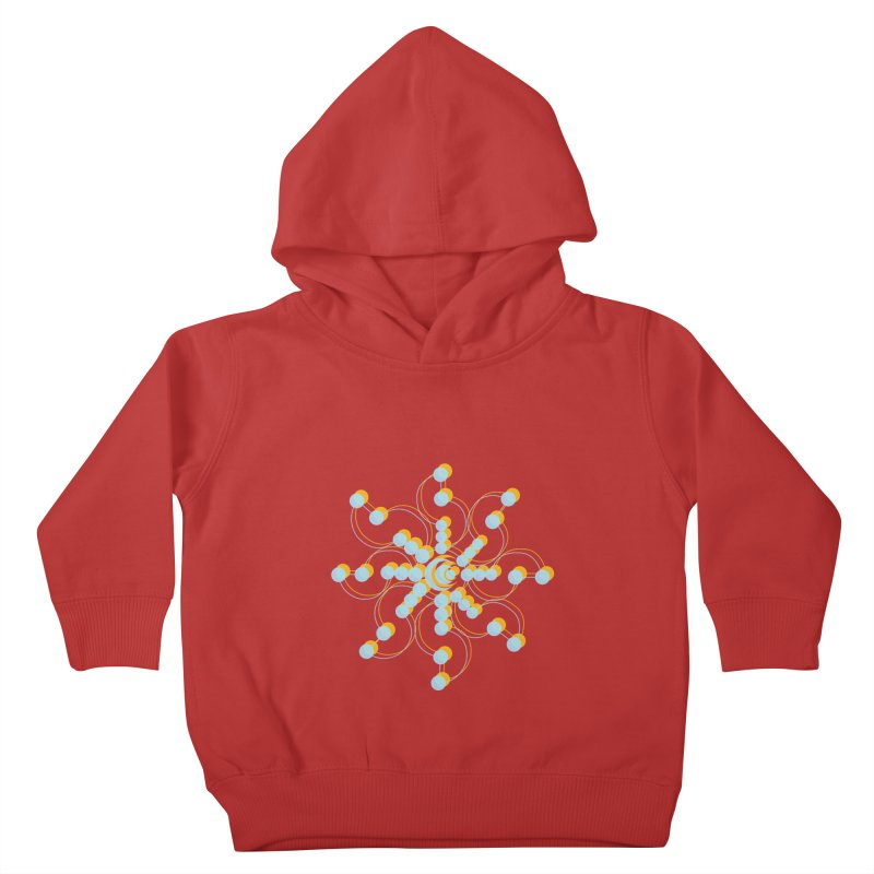 Spinal Kids Toddler Pullover Hoody by BRIANWANDTKEART's Artist Shop