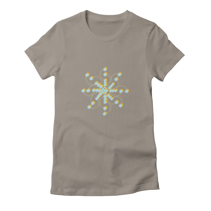 Spinal Women's Fitted T-Shirt by BRIANWANDTKEART's Artist Shop