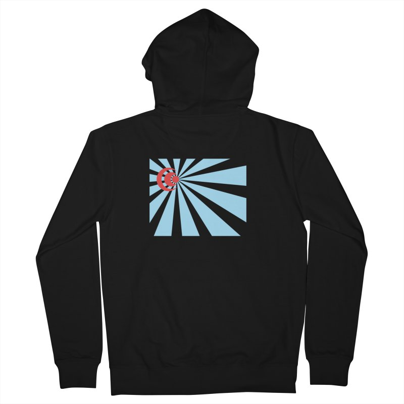 Blind Men's French Terry Zip-Up Hoody by BRIANWANDTKEART's Artist Shop