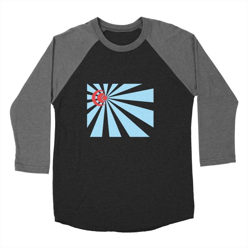 Blind Men's Baseball Triblend T-Shirt by BRIANWANDTKEART's Artist Shop