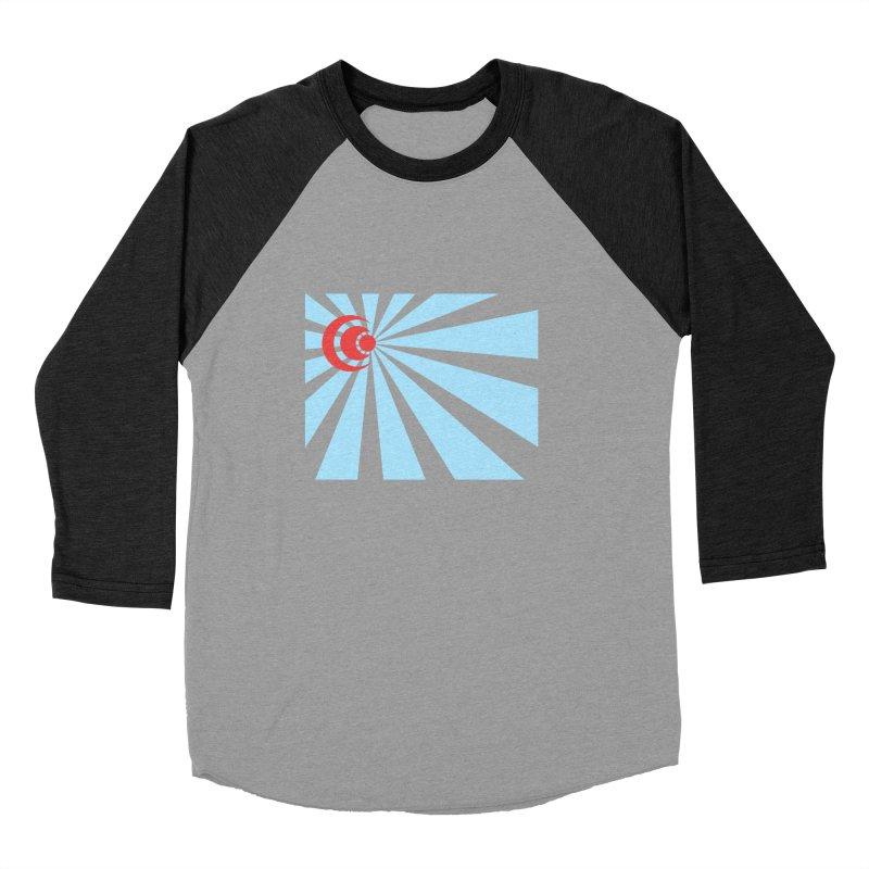 Blind Men's Baseball Triblend Longsleeve T-Shirt by BRIANWANDTKEART's Artist Shop