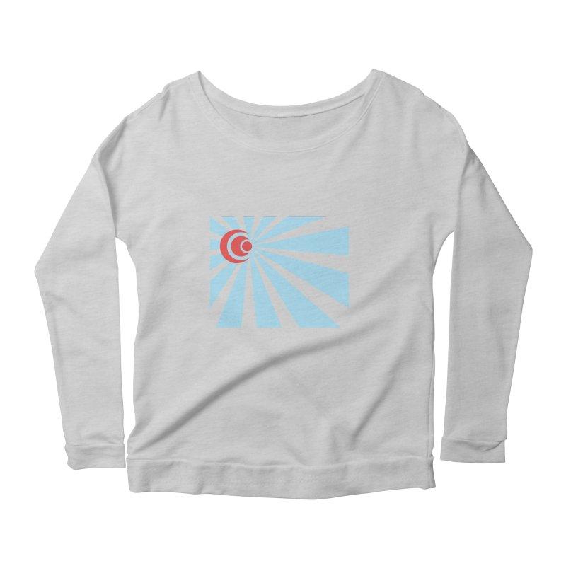 Blind Women's Scoop Neck Longsleeve T-Shirt by BRIANWANDTKEART's Artist Shop