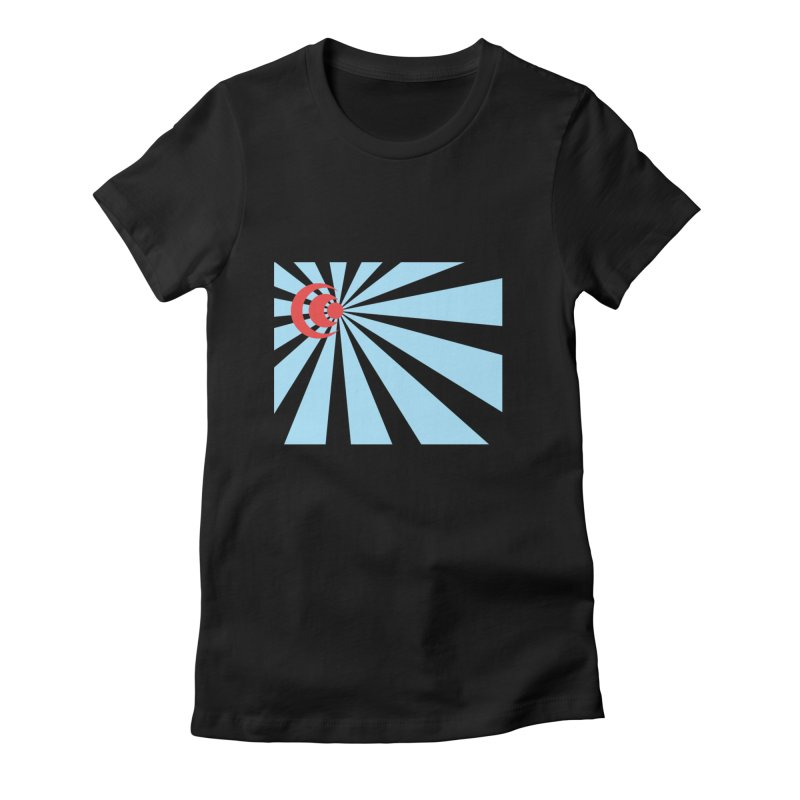 Blind Women's Fitted T-Shirt by BRIANWANDTKEART's Artist Shop