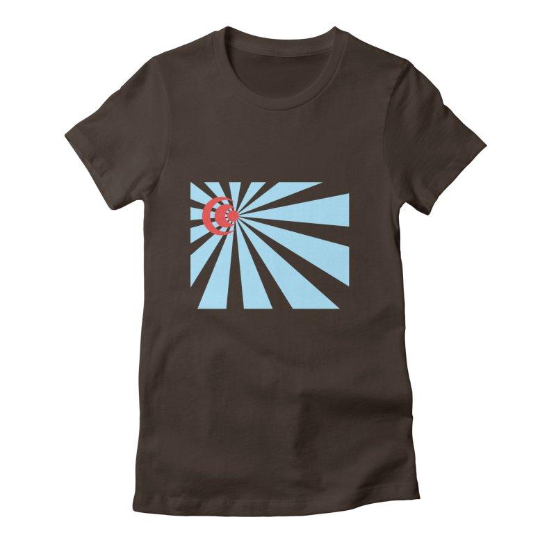 Blind Women's Fitted T-Shirt by BRIANWANDTKEART's Artist Shop