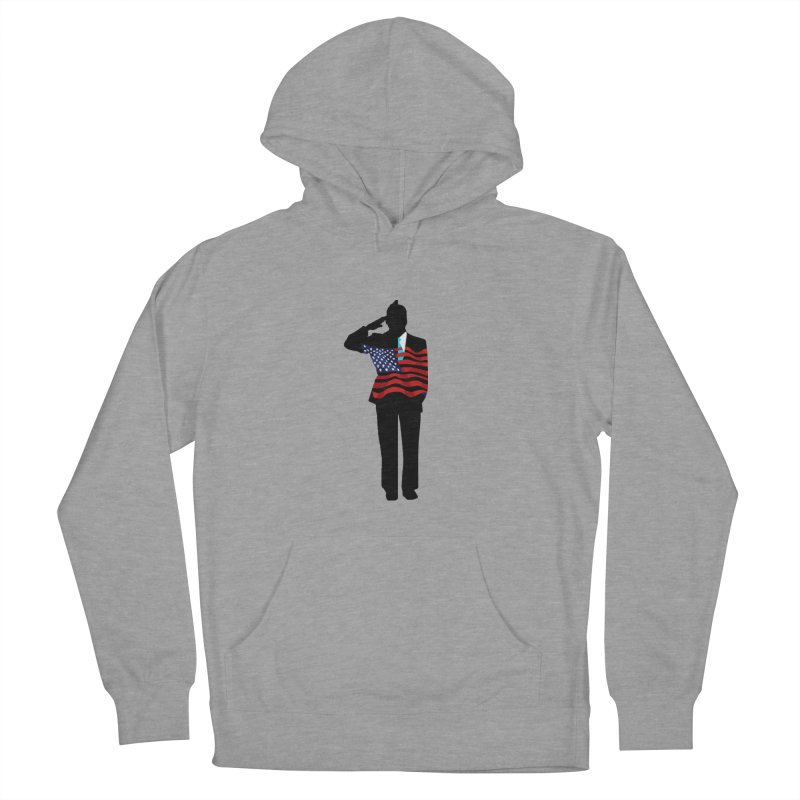 Soldier Means Business Men's French Terry Pullover Hoody by BRIANWANDTKEART's Artist Shop