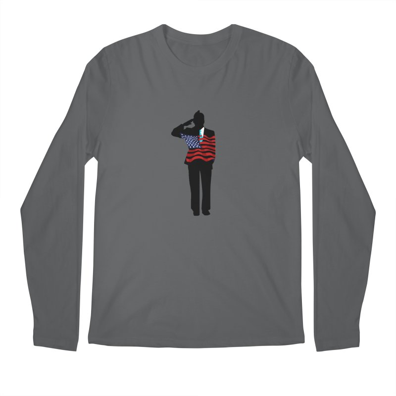 Soldier Means Business Men's Longsleeve T-Shirt by BRIANWANDTKEART's Artist Shop