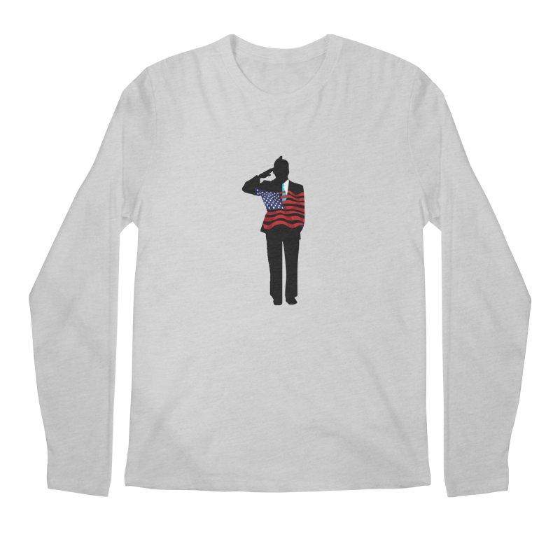 Soldier Means Business Men's Regular Longsleeve T-Shirt by BRIANWANDTKEART's Artist Shop