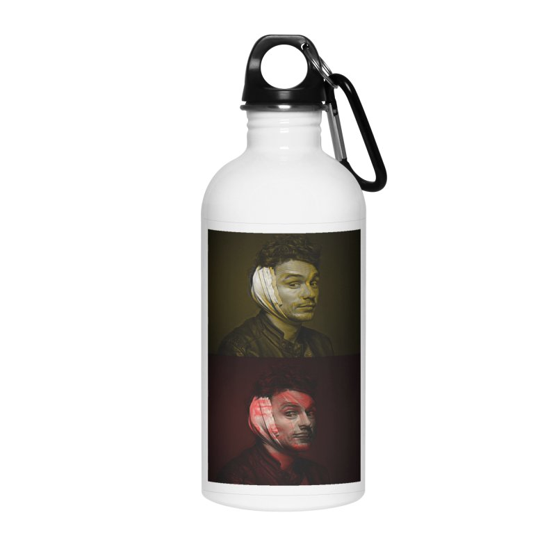 Franco Banko Accessories Water Bottle by BRIANWANDTKEART's Artist Shop