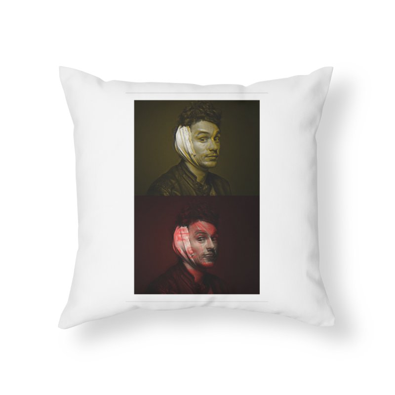 Franco Banko Home Throw Pillow by BRIANWANDTKEART's Artist Shop