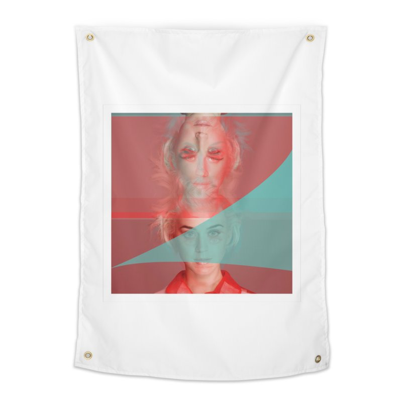 Katy Perry Home Tapestry by BRIANWANDTKEART's Artist Shop