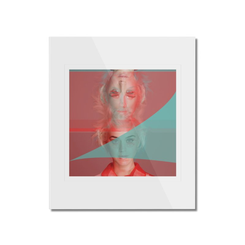 Katy Perry Home Mounted Acrylic Print by BRIANWANDTKEART's Artist Shop