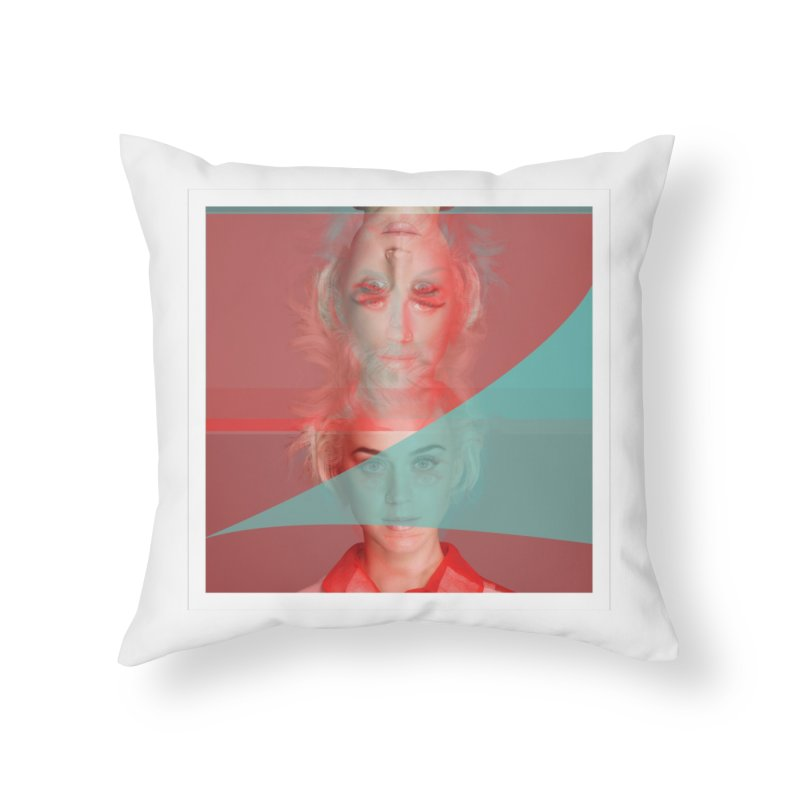 Katy Perry Home Throw Pillow by BRIANWANDTKEART's Artist Shop