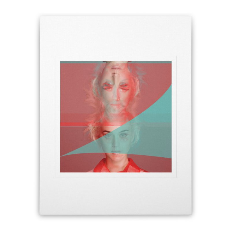 Katy Perry Home Stretched Canvas by BRIANWANDTKEART's Artist Shop