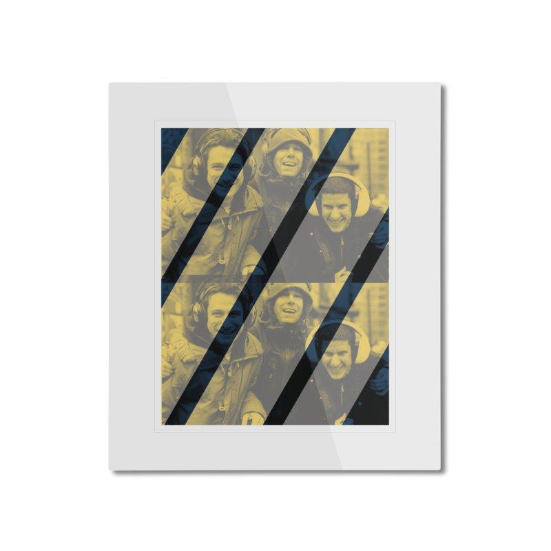 Beastie Boyz Home Mounted Aluminum Print by BRIANWANDTKEART's Artist Shop