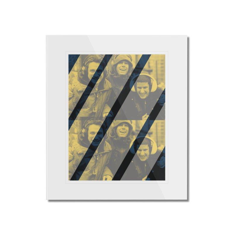 Beastie Boyz Home Mounted Acrylic Print by BRIANWANDTKEART's Artist Shop