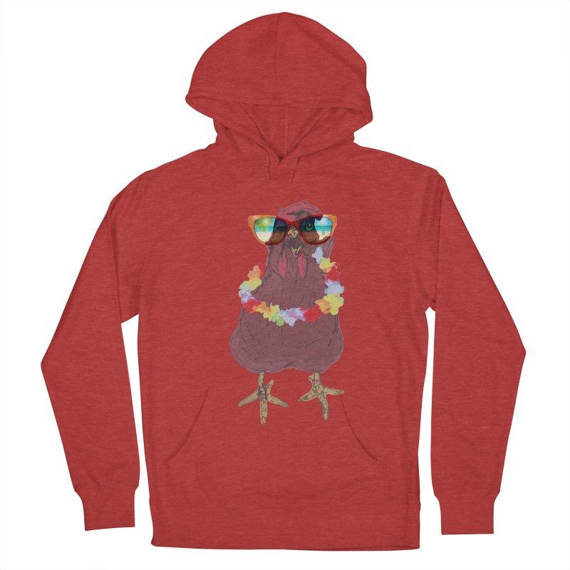 Aloha CHICKEN!!  Women's Pullover Hoody by BRIANWANDTKEART's Artist Shop