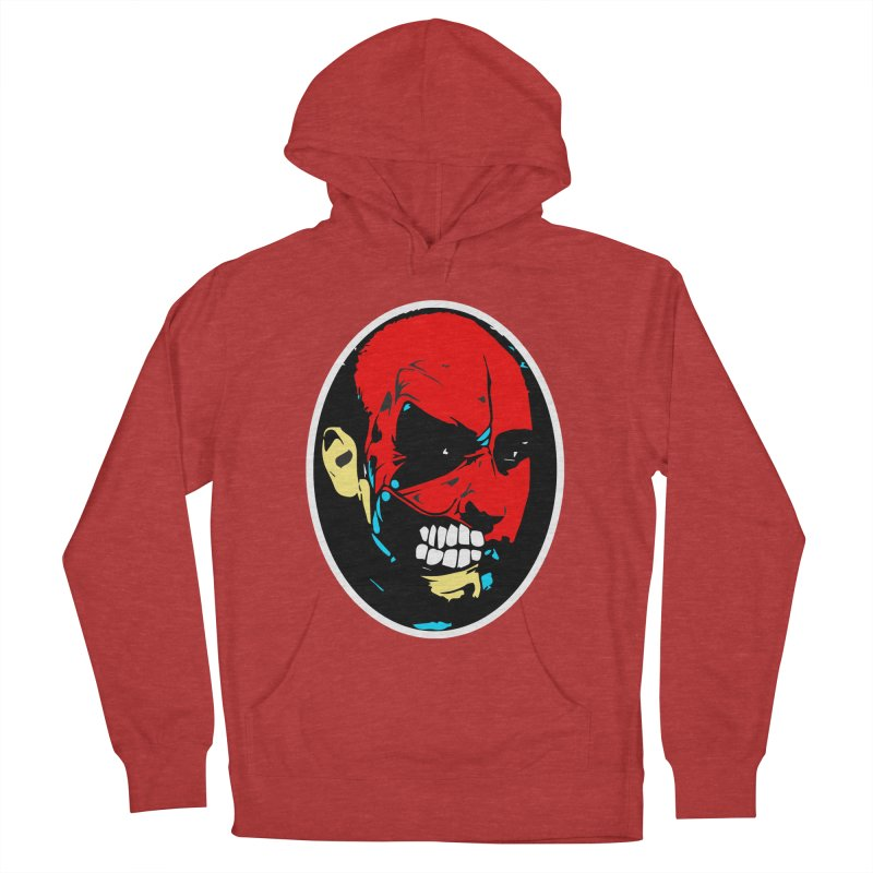 Face of two Women's Pullover Hoody by BRIANWANDTKEART's Artist Shop