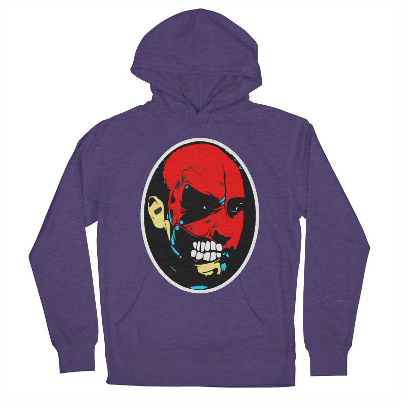 Face of two Men's French Terry Pullover Hoody by BRIANWANDTKEART's Artist Shop