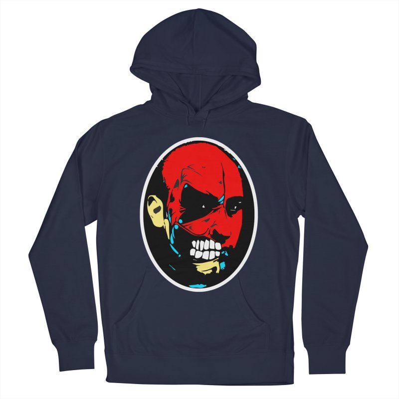 Face of two Men's Pullover Hoody by BRIANWANDTKEART's Artist Shop