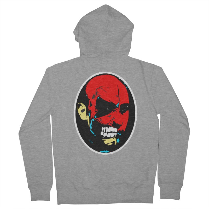 Face of two Women's Zip-Up Hoody by BRIANWANDTKEART's Artist Shop