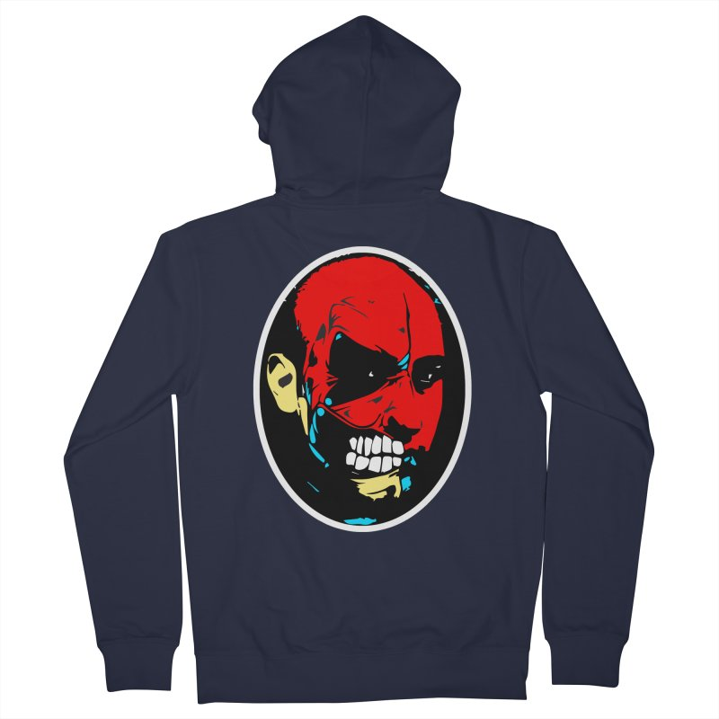 Face of two Men's Zip-Up Hoody by BRIANWANDTKEART's Artist Shop
