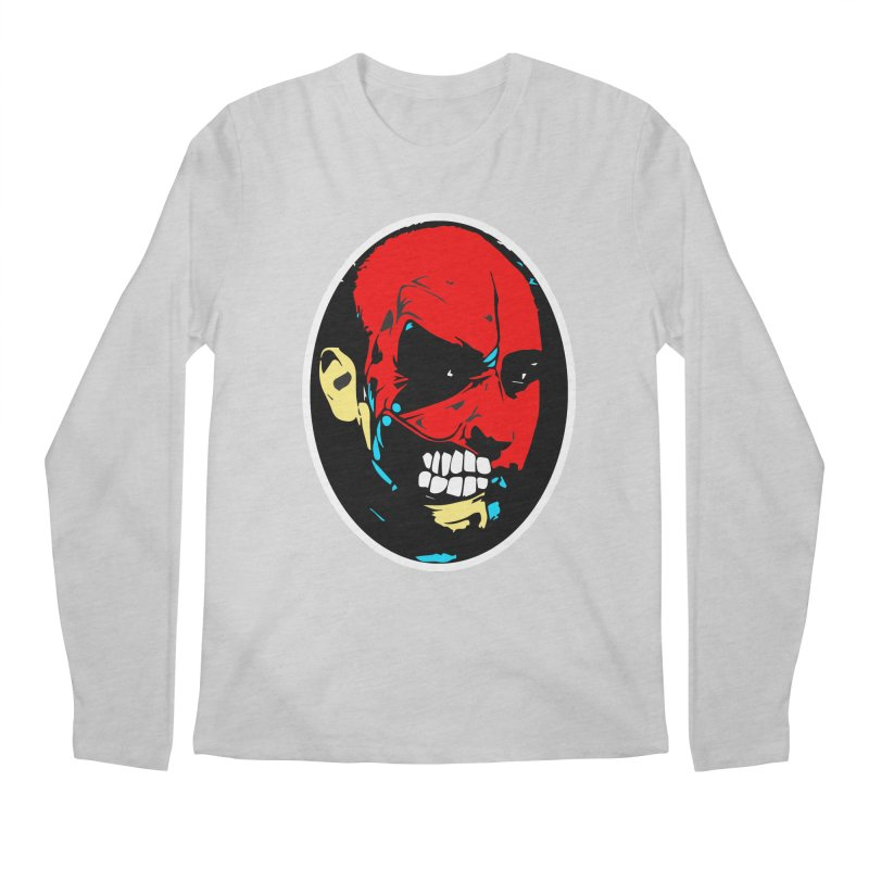 Face of two Men's Longsleeve T-Shirt by BRIANWANDTKEART's Artist Shop