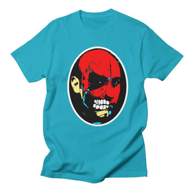 Face of two Men's Regular T-Shirt by BRIANWANDTKEART's Artist Shop