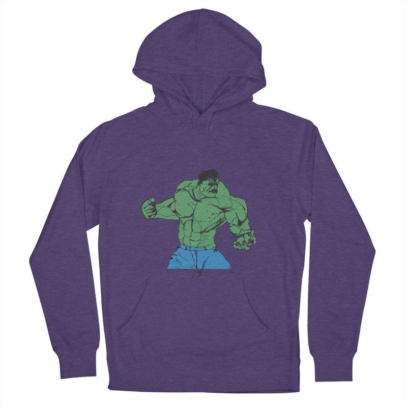 incredible hulk Men's Pullover Hoody by BRIANWANDTKEART's Artist Shop