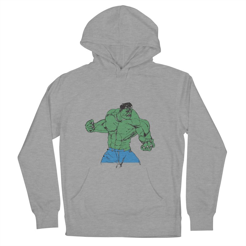 incredible hulk Men's Pullover Hoody by BRIANWANDTKEART's Artist Shop