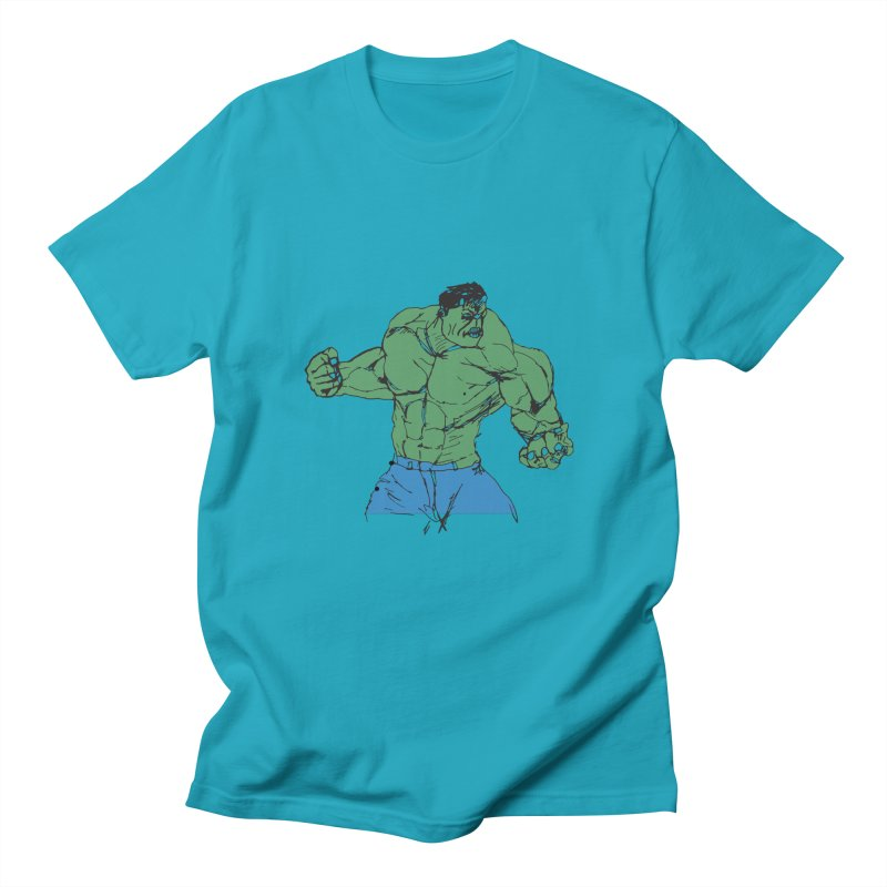 incredible hulk Men's Regular T-Shirt by BRIANWANDTKEART's Artist Shop