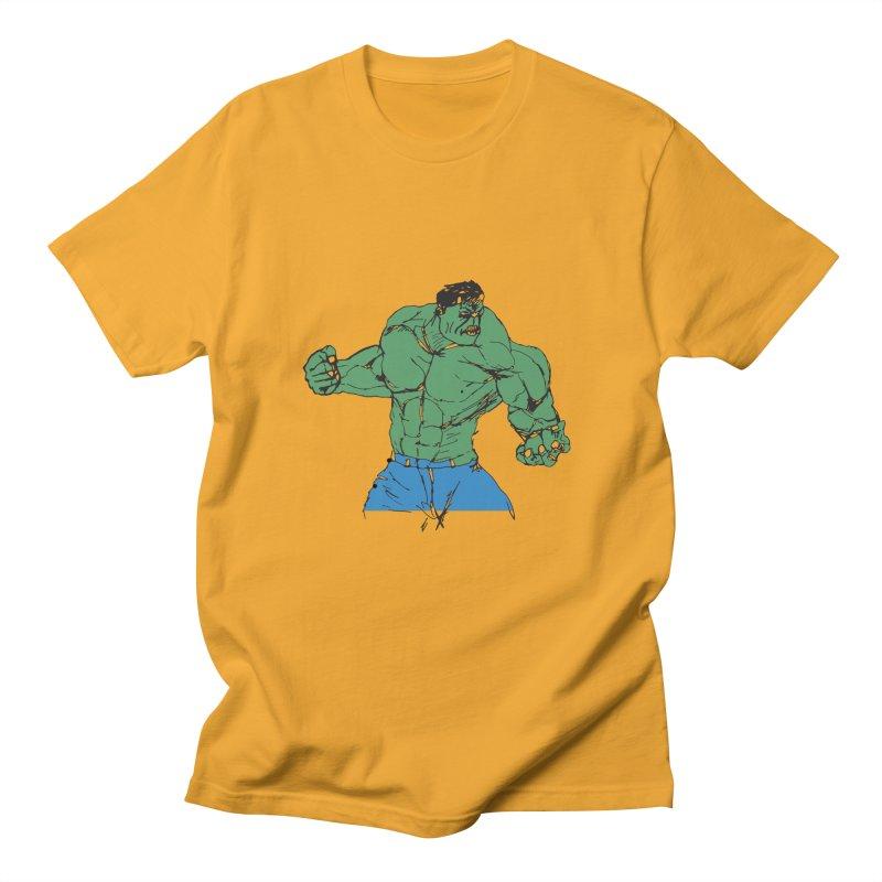 incredible hulk Men's T-shirt by BRIANWANDTKEART's Artist Shop