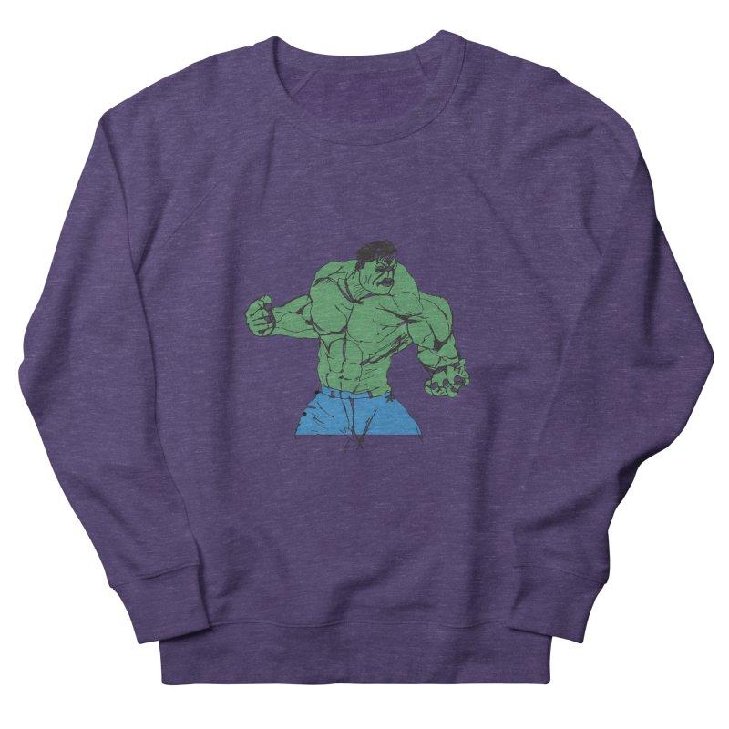 incredible hulk Women's Sweatshirt by BRIANWANDTKEART's Artist Shop