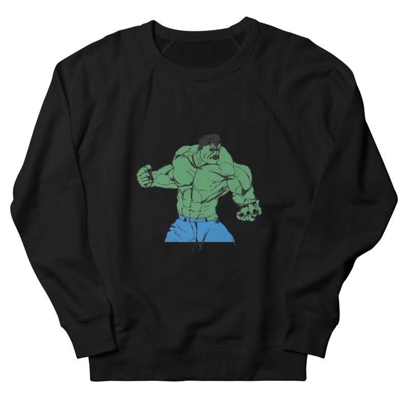 incredible hulk Men's Sweatshirt by BRIANWANDTKEART's Artist Shop