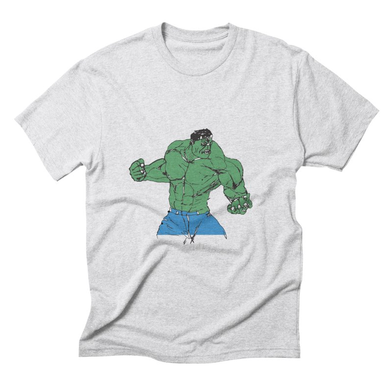 incredible hulk Men's Triblend T-Shirt by BRIANWANDTKEART's Artist Shop