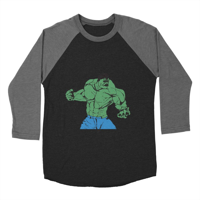 incredible hulk Women's Baseball Triblend Longsleeve T-Shirt by BRIANWANDTKEART's Artist Shop