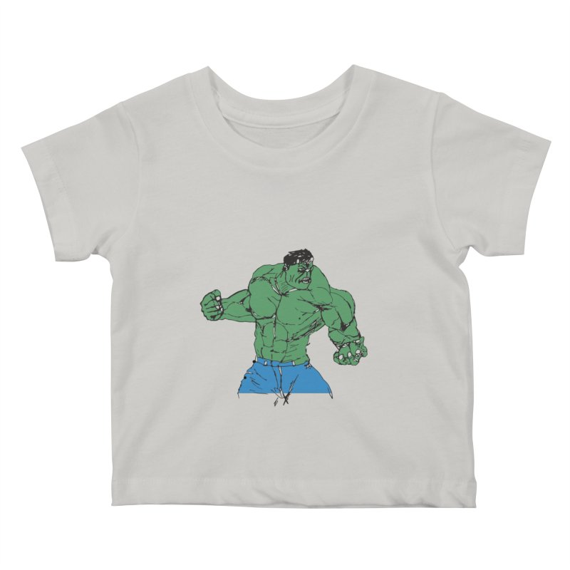 incredible hulk Kids Baby T-Shirt by BRIANWANDTKEART's Artist Shop