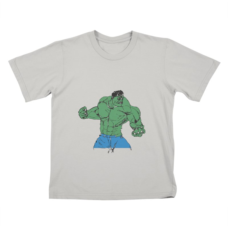 incredible hulk Kids T-shirt by BRIANWANDTKEART's Artist Shop